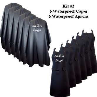 Branding Kit #2: 6 WP Capes/6 WP Aprons- $29.95 each